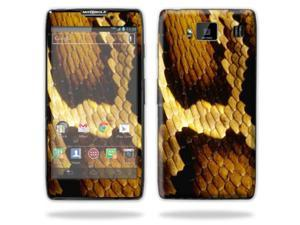 Mightyskins Protective Skin Decal Cover for Motorola Droid Razr Hd & Razr Maxx HD Cell Phone wrap sticker skins Python