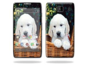 Mightyskins Protective Skin Decal Cover for Motorola Droid Razr Hd & Razr Maxx HD Cell Phone wrap sticker skins Puppy