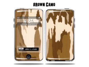 Mightyskins Protective Vinyl Skin Decal Cover for Apple iPod Touch 2G 3G 2nd 3rd Generation 8GB 16GB 32GB mp3 player wrap sticker skins  - Brown Camo