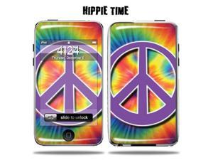 Mightyskins Protective Vinyl Skin Decal Cover for Apple iPod Touch 2G 3G 2nd 3rd Generation 8GB 16GB 32GB mp3 player wrap sticker skins  - Hippie Time