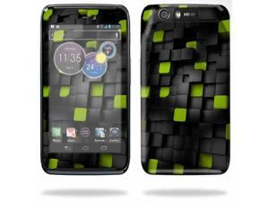 Mightyskins Protective Skin Decal Cover for Motorola Atrix HD Cell Phone AT&T wrap sticker skins Cubes