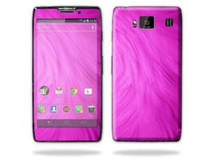Mightyskins Protective Skin Decal Cover for Motorola Droid Razr Hd & Razr Maxx HD Cell Phone wrap sticker skins Pink Fur