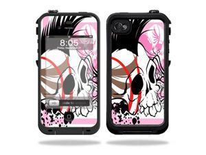 Mightyskins Protective Vinyl Skin Decal Cover for LifeProof iPhone 4 / 4S Case wrap sticker skins Skull Hawk