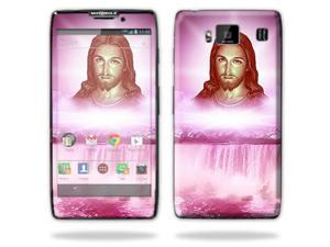 Mightyskins Protective Skin Decal Cover for Motorola Droid Razr Hd & Razr Maxx HD Cell Phone wrap sticker skins Jesus