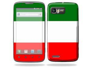 Mightyskins Protective Skin Decal Cover for Motorola Atrix 2 II (version 2) Cell Phone Sticker Italian Flag