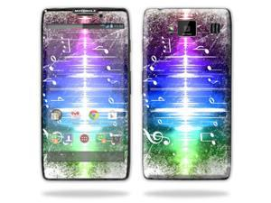 Mightyskins Protective Skin Decal Cover for Motorola Droid Razr Hd & Razr Maxx HD Cell Phone wrap sticker skins Music Man