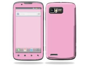 Mightyskins Protective Skin Decal Cover for Motorola Atrix 2 II (version 2) Cell Phone Sticker Solid Pink