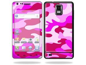 Mightyskins Protective Vinyl Skin Decal Cover for Samsung Infuse 4G Cell Phone wrap sticker skins i997 AT&T - Pink Camo