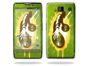 Mightyskins Protective Skin Decal Cover for Motorola Droid Razr Hd & Razr Maxx HD Cell Phone wrap sticker skins Sonic DJ