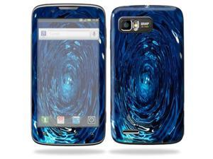 Mightyskins Protective Skin Decal Cover for Motorola Atrix 2 II (version 2) Cell Phone Sticker Blue Vortex