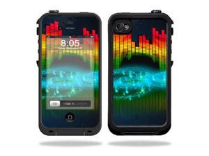 Mightyskins Protective Vinyl Skin Decal Cover for LifeProof iPhone 4 / 4S Case wrap sticker skins Bass Head