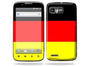 Mightyskins Protective Skin Decal Cover for Motorola Atrix 2 II (version 2) Cell Phone Sticker German Flag