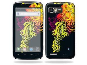 Mightyskins Protective Skin Decal Cover for Motorola Atrix 2 II (version 2) Cell Phone Sticker Flourishes