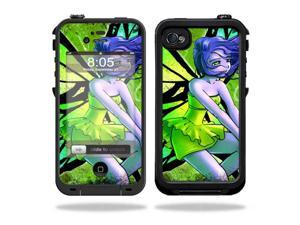 Mightyskins Protective Vinyl Skin Decal Cover for LifeProof iPhone 4 / 4S Case wrap sticker skins Fairy