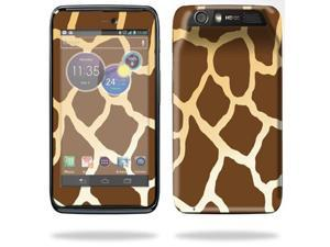 Mightyskins Protective Skin Decal Cover for Motorola Atrix HD Cell Phone AT&T wrap sticker skins Giraffe