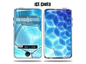 Mightyskins Protective Vinyl Skin Decal Cover for Apple iPod Touch 2G 3G 2nd 3rd Generation 8GB 16GB 32GB mp3 player wrap sticker skins  - Ice Cubes