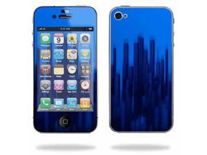 Mightyskins Apple iPhone 4 or iPhone 4S AT&T or Verizon 16GB 32GB Cell Phone wrap sticker skins Blue Grass
