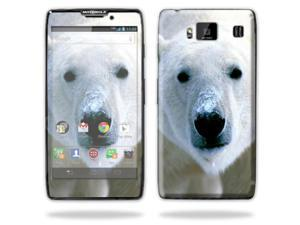 Mightyskins Protective Skin Decal Cover for Motorola Droid Razr Hd & Razr Maxx HD Cell Phone wrap sticker skins Polar Bear