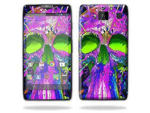 Mightyskins Protective Skin Decal Cover for Motorola Droid Razr Hd & Razr Maxx HD Cell Phone wrap sticker skins Hard Wired