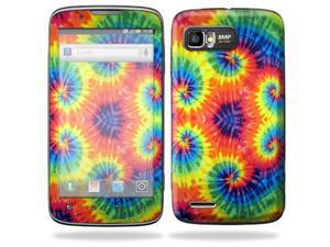 Mightyskins Protective Skin Decal Cover for Motorola Atrix 2 II (version 2) Cell Phone Sticker Tie Dye 2