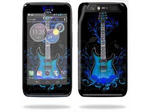 Mightyskins Protective Skin Decal Cover for Motorola Atrix HD Cell Phone AT&T wrap sticker skins Guitar