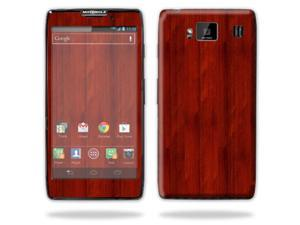 Mightyskins Protective Skin Decal Cover for Motorola Droid Razr Hd & Razr Maxx HD Cell Phone wrap sticker skins Cherry Wood