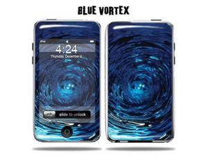 Mightyskins Protective Vinyl Skin Decal Cover for Apple iPod Touch 2G 3G 2nd 3rd Generation 8GB 16GB 32GB mp3 player wrap sticker skins  - Blue Vortex