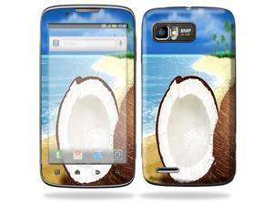 Mightyskins Protective Skin Decal Cover for Motorola Atrix 2 II (version 2) Cell Phone Sticker Coconuts