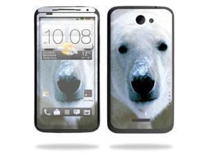 Mightyskins Protective Vinyl Skin Decal Cover for HTC One X 4G AT&T Cell Phone wrap sticker skins Polar Bear