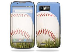 Mightyskins Protective Skin Decal Cover for Motorola Atrix 2 II (version 2) Cell Phone Sticker Baseball
