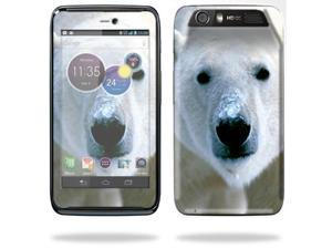 Mightyskins Protective Skin Decal Cover for Motorola Atrix HD Cell Phone AT&T wrap sticker skins Polar Bear