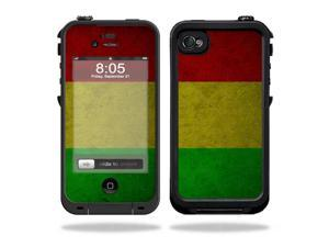 Mightyskins Protective Vinyl Skin Decal Cover for LifeProof iPhone 4 / 4S Case wrap sticker skins Yeah Mon