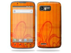 Mightyskins Protective Skin Decal Cover for Motorola Atrix 2 II (version 2) Cell Phone Sticker Citrus Swirl