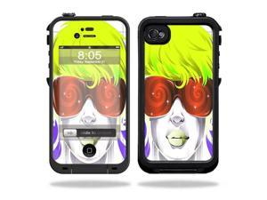 Mightyskins Protective Vinyl Skin Decal Cover for LifeProof iPhone 4 / 4S Case wrap sticker skins Spin