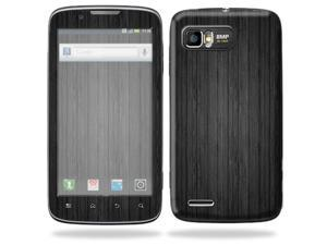 Mightyskins Protective Skin Decal Cover for Motorola Atrix 2 II (version 2) Cell Phone Sticker Black Wood