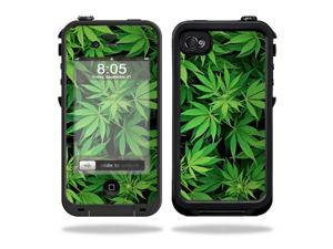 Mightyskins Protective Vinyl Skin Decal Cover for LifeProof iPhone 4 / 4S Case wrap sticker skins Weed