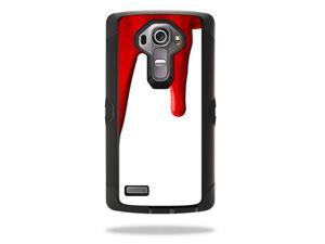 MightySkins Protective Vinyl Skin Decal for Otterbox Defender LG G4 Case wrap cover sticker skins Blood Drip