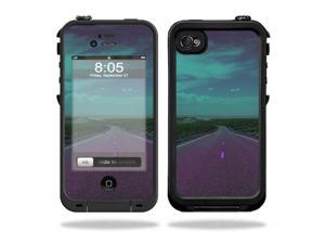 Mightyskins Protective Vinyl Skin Decal Cover for LifeProof iPhone 4 / 4S Case wrap sticker skins Highway