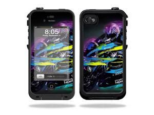Mightyskins Protective Vinyl Skin Decal Cover for LifeProof iPhone 4 / 4S Case wrap sticker skins Sportbike
