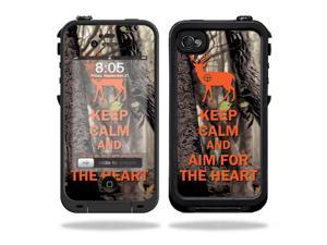 Mightyskins Protective Vinyl Skin Decal Cover for LifeProof iPhone 4 / 4S Case wrap sticker skins Deer Hunter
