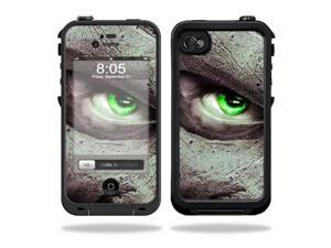 Mightyskins Protective Vinyl Skin Decal Cover for LifeProof iPhone 4 / 4S Case wrap sticker skins Evilness
