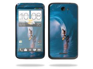 Mightyskins Protective Skin Decal Cover for HTC One X+ Plus Cell Phone AT&T wrap sticker skins Surfer