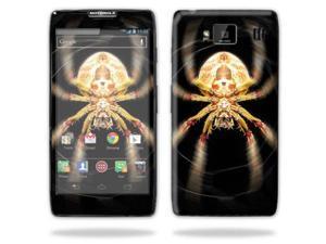 Mightyskins Protective Skin Decal Cover for Motorola Droid Razr Hd & Razr Maxx HD Cell Phone wrap sticker skins Web
