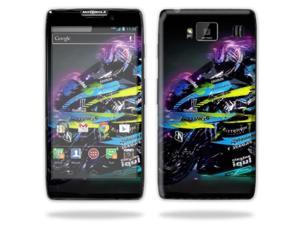 Mightyskins Protective Skin Decal Cover for Motorola Droid Razr Hd & Razr Maxx HD Cell Phone wrap sticker skins Sportbike