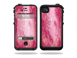 Mightyskins Protective Vinyl Skin Decal Cover for LifeProof iPhone 4 / 4S Case wrap sticker skins Pink Diamonds