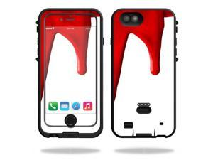 MightySkins Protective Vinyl Skin Decal for LifeProof FRE Power iPhone 6/6S Case wrap cover sticker skins Blood Drip