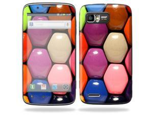 Mightyskins Protective Skin Decal Cover for Motorola Atrix 2 II (version 2) Cell Phone Sticker Honey Comb