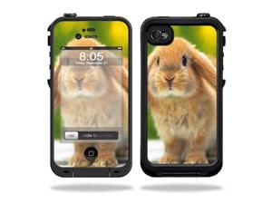 Mightyskins Protective Vinyl Skin Decal Cover for LifeProof iPhone 4 / 4S Case wrap sticker skins Rabbit