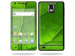 Mightyskins Protective Vinyl Skin Decal Cover for Samsung Infuse 4G Cell Phone wrap sticker skins i997 AT&T - Green Leaf