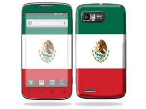 Mightyskins Protective Skin Decal Cover for Motorola Atrix 2 II (version 2) Cell Phone Sticker Mexican Flag